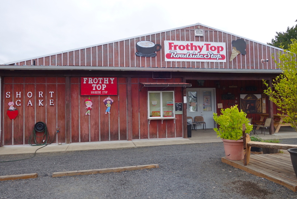 Frothy Top Cafe - Central Oregon Road Trip Stops