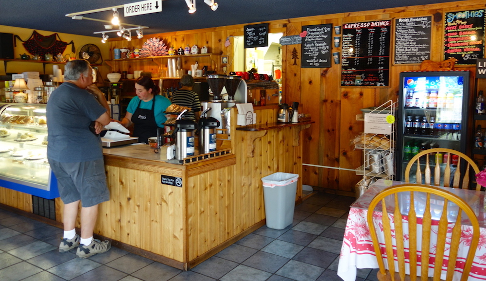 Rosie Mountain Coffee House - Central Oregon Road Trip Stops