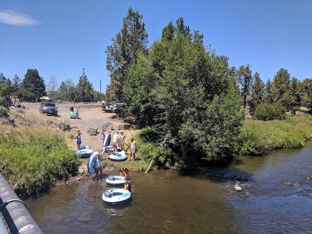 Float Deschutes River Tumalo Central Oregon