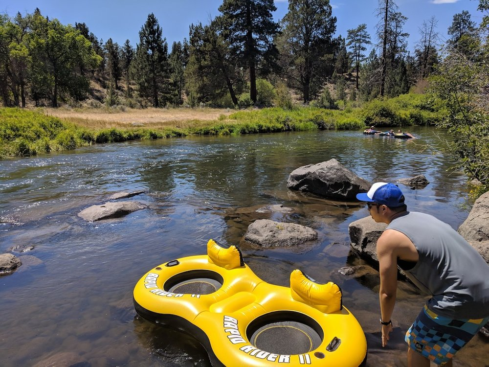 How to float the Deschutes River in Tumalo, Central Oregon – Roam