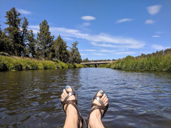Tumalo Deschutes River float