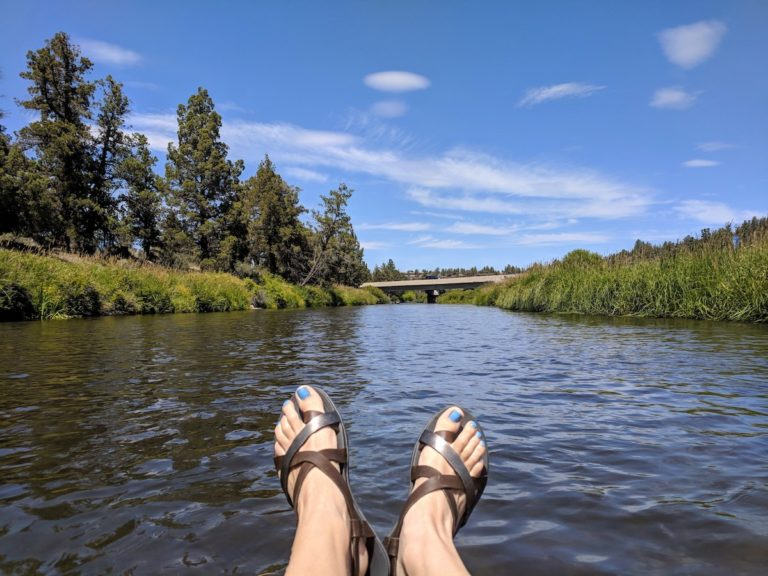 How to float the Deschutes River in Tumalo, Central Oregon