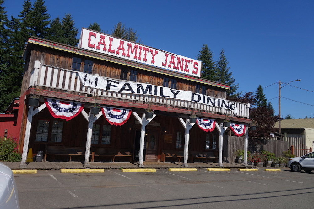 Calamity Jane's Family Restaurant - Central Oregon Road Trip Stops