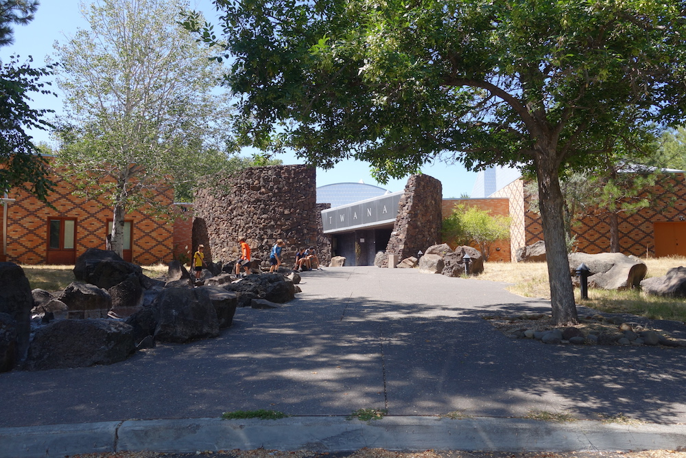Warm Springs Museum - - Portland to Bend Road Trip Scenic Drive