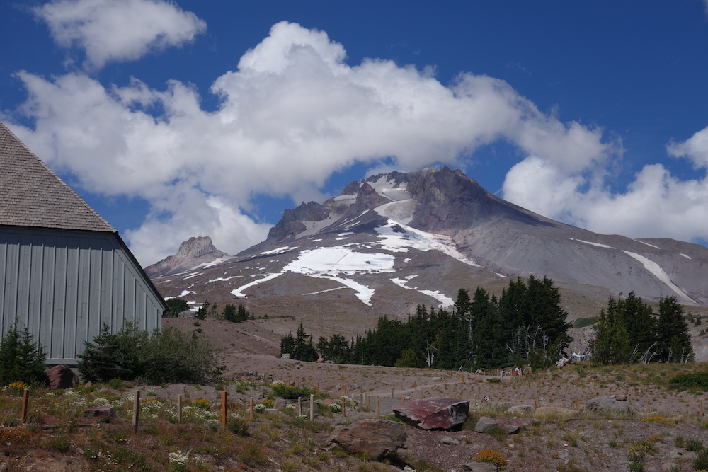 Mt. Hood, Timberline Lodge - Portland to Bend Road Trip Scenic Drive