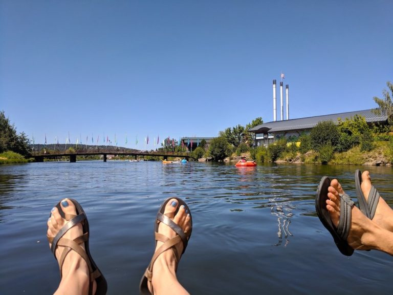 Floating the Deschutes River in Bend, OR – How To + Map
