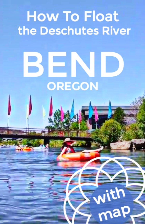 How to Float the Deschutes River in Bend - tubing in Central Oregon