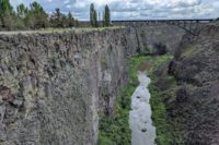 Crooked RIver - Peter Skene Ogden State Park: Historic Bridge Scenic Overlook in Central Oregon